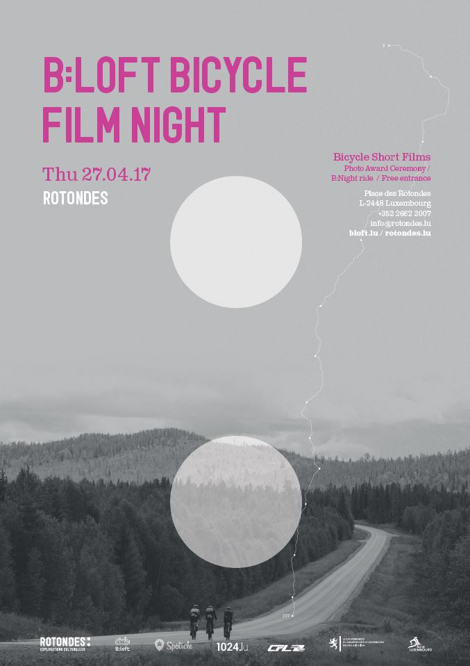Bicycle Film Night, 27 April 2017