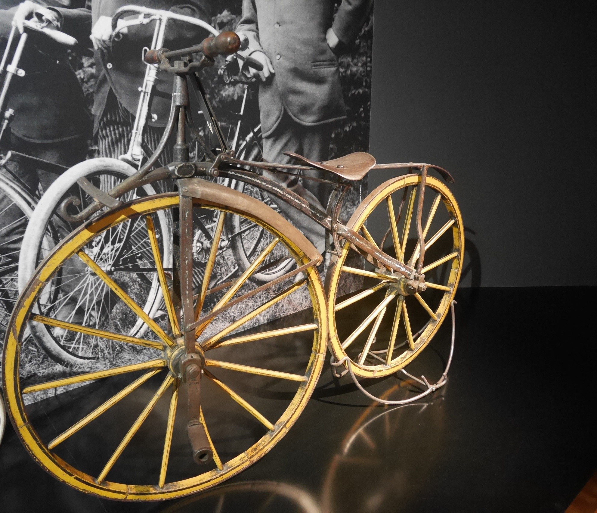 A Bicycle With A Pedal Crank, Germany, 1868, 41 Kg.