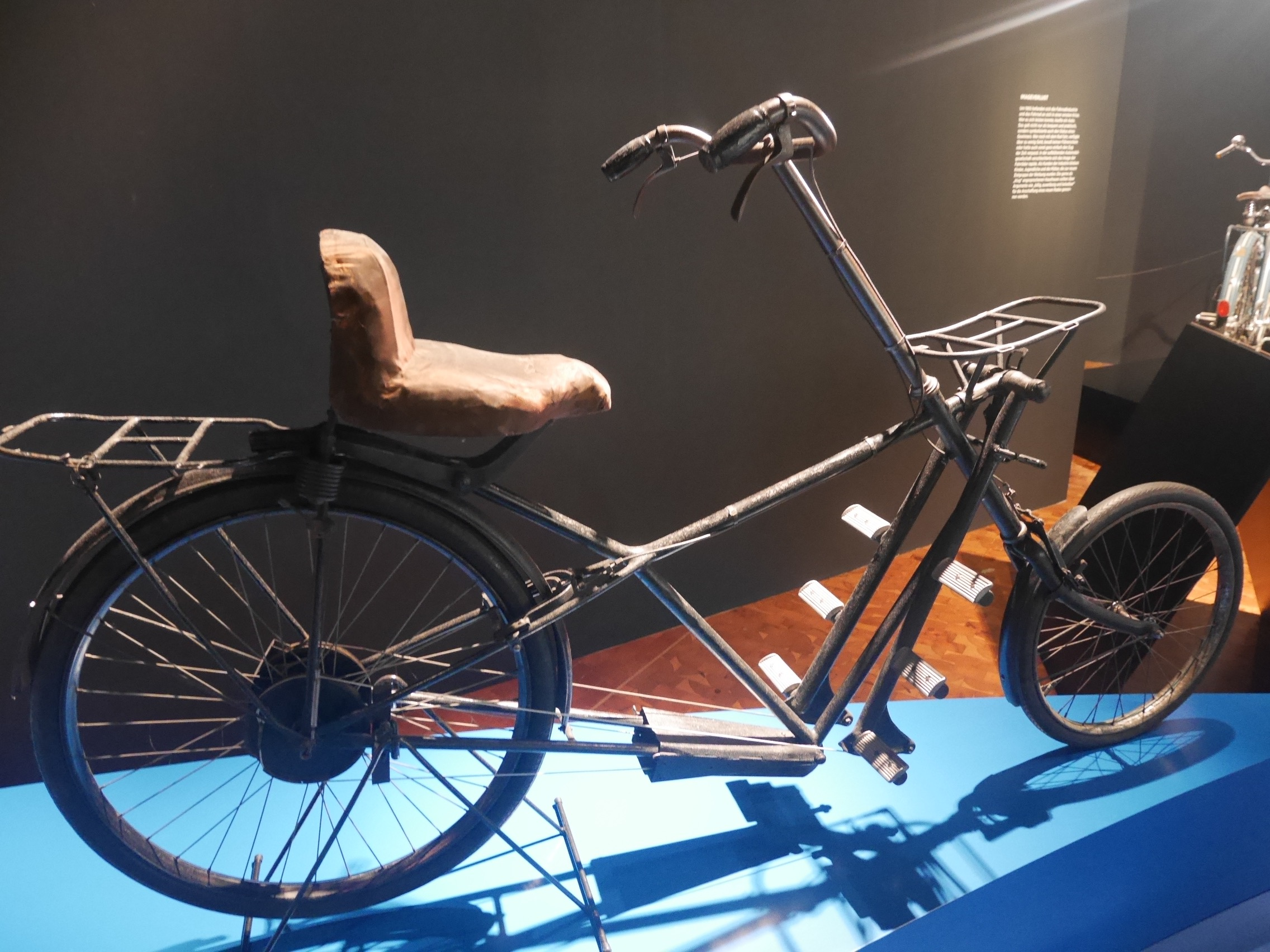 "Recumbent Bicycle ""J-Rad"" By Paul Jaray, Stuttgart, 1921-23, 23.9 Kg"