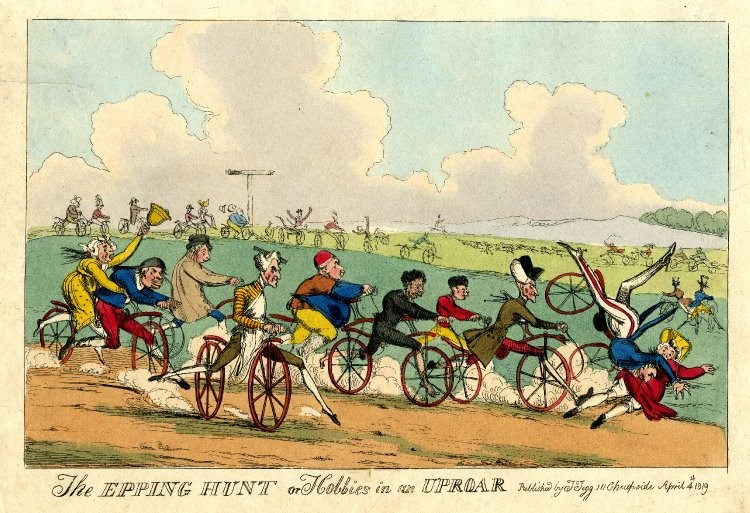 The Epping Hunt Or Hobbies In An Uproar, 1819.