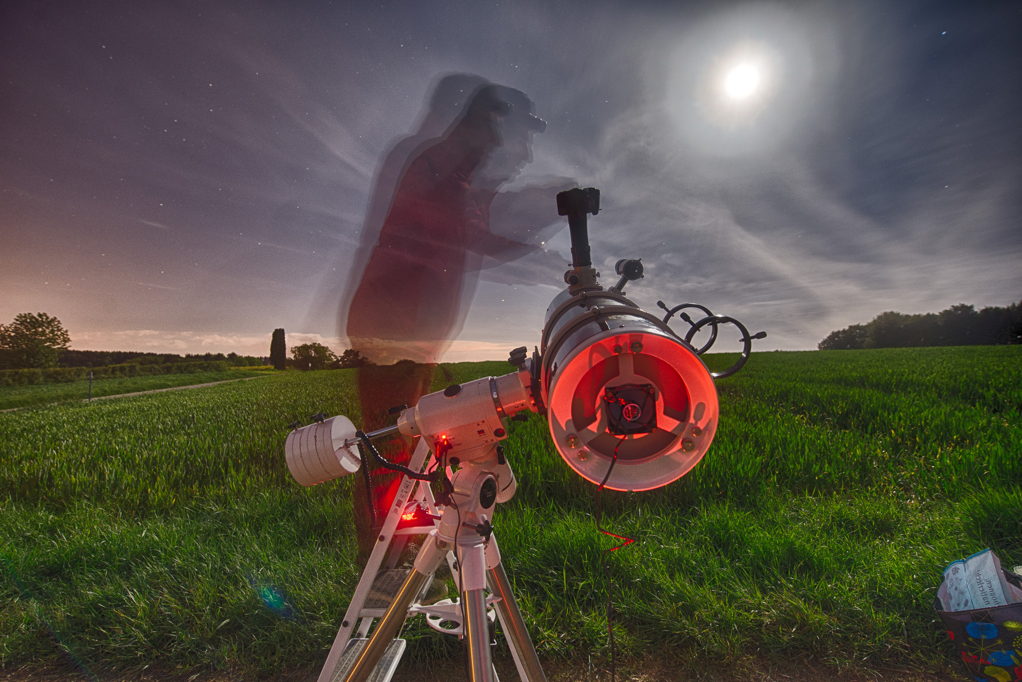 Astronomy Session On Eiselbierg