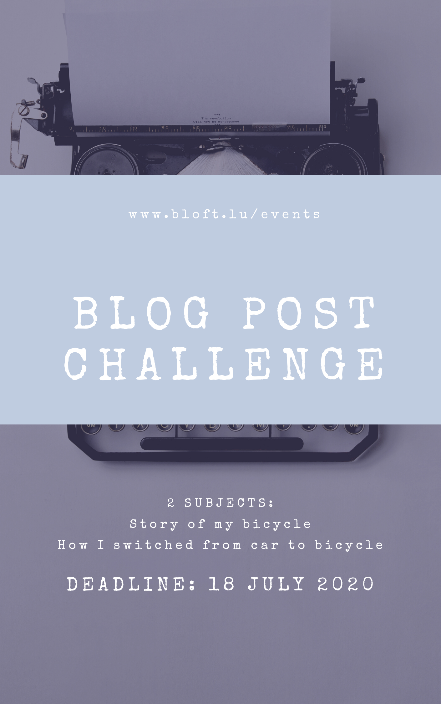 "Blog Post Challenge: ""Story Of My Bicycle"" Or ""How I Switched From Car To Bicycle"""